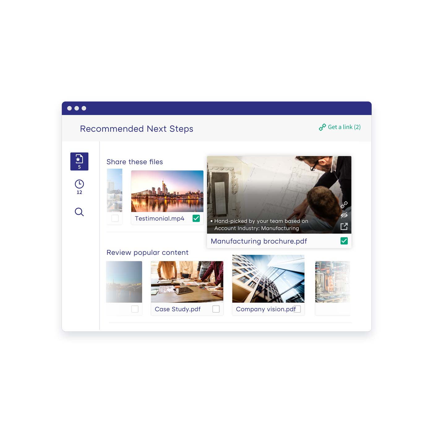 Discover content with AI-driven search and recommendations