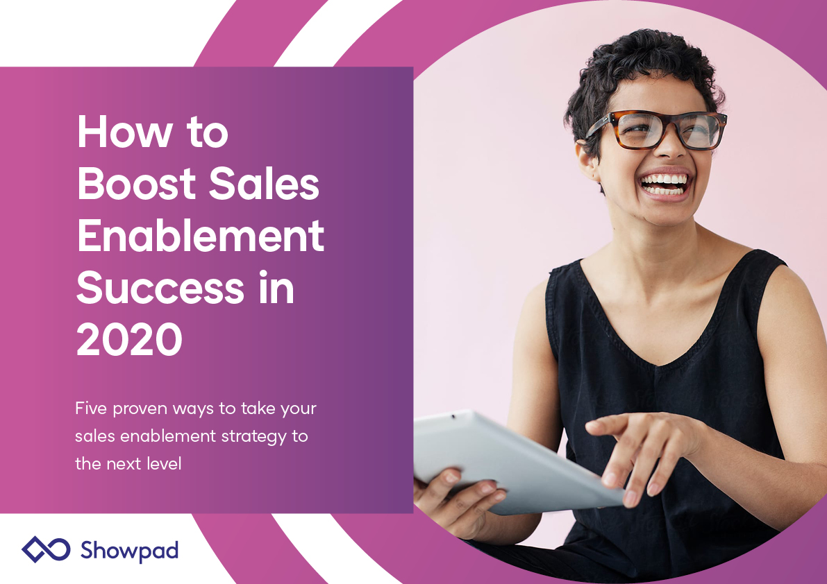 Showpad Report How to Boost Sales Enablement in 2020