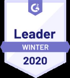 G2 Leader Sales Enablement 2020 Winter