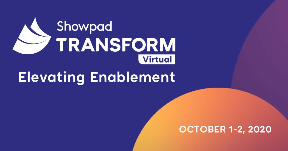showpad transform virtual conference