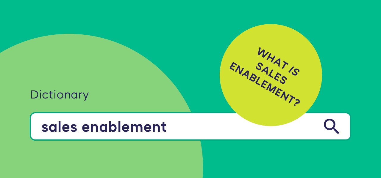 sales enablement definition