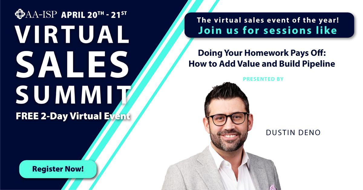 AA-ISP Virtual Sales Summit